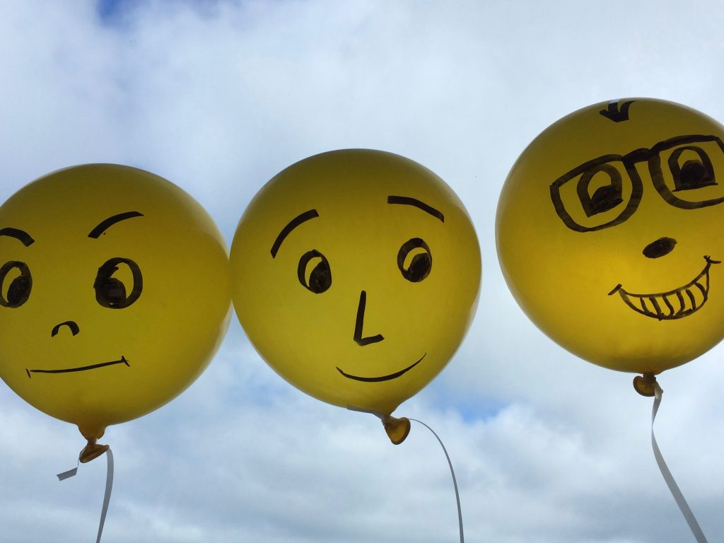 personal-brand-image-three-faces-on-baloons