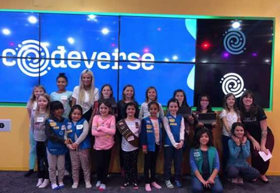 Katy-Lynch-group-photo-with-kids-Codeverse