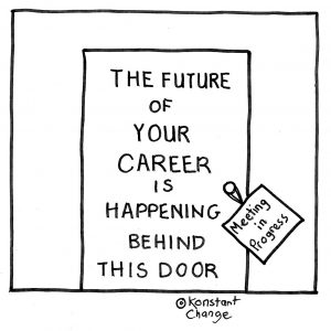 your-career-gets-decided-behind-closed-doors-illustration